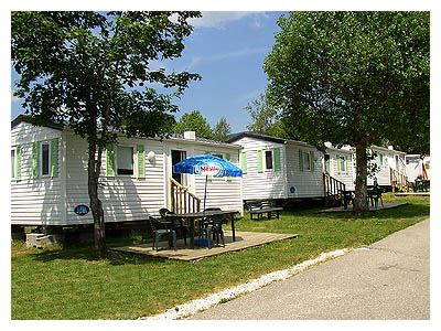 Camping LES BUISSONNETS - Mobils-homes